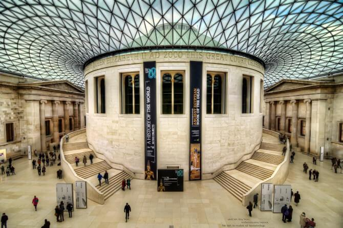 Top 20 things to do in London: The interior of the British Museum