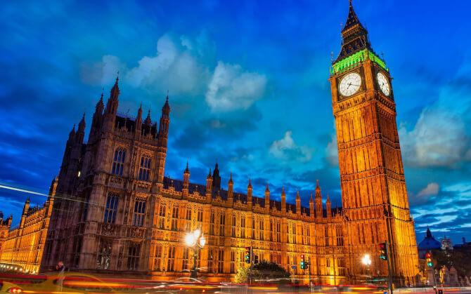 Top 20 things to do in London: The Big Ben at dusk