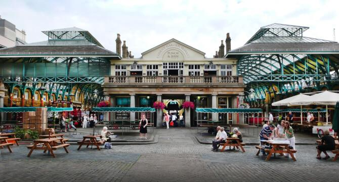Top 20 things to do in London: The market of Covent Garden