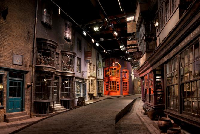 Top 20 things to do in London: Diagon Alley from Harry Potter at the Warner Bros. Studio Tour London