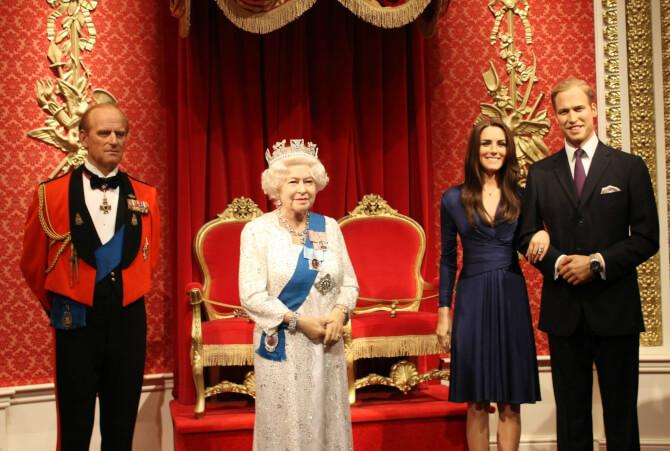 Top 20 things to do in London: Wax sculptures of the royal family at Madame Tussauds