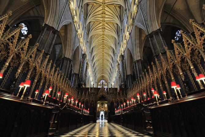 Top 20 things to do in London: The interior of Westminster Abbey