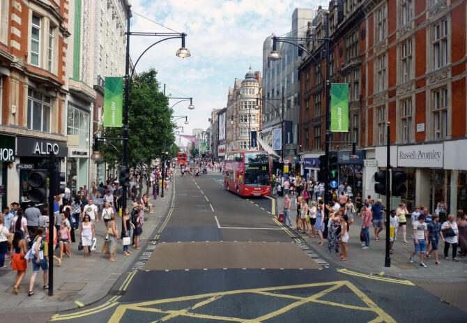 Top 20 things to do in London: The shops of Oxford Street