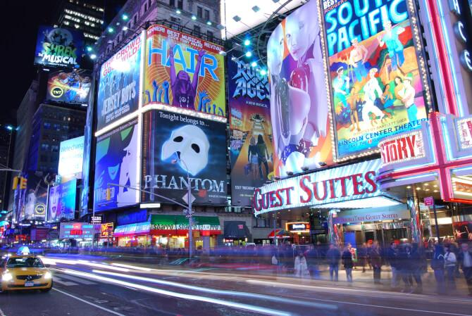 Top 20 things to do in New York: The Broadway holds musicals like Hair and The Phantom of the Opera