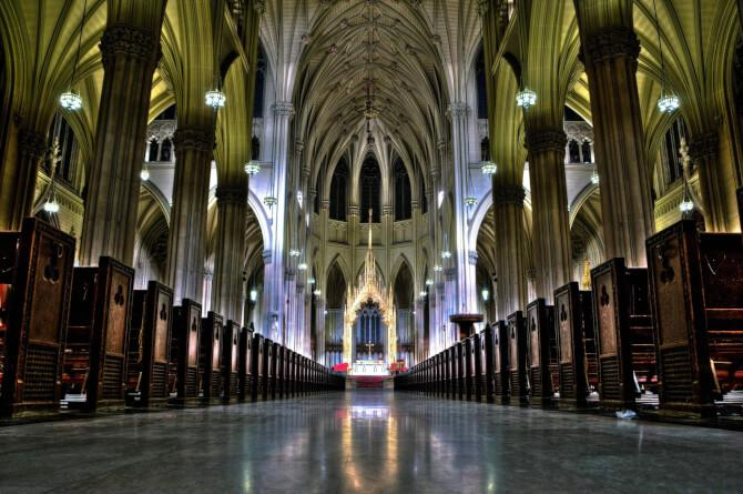Top 20 things to do in New York: The interior of the St. Patrick's Cathedral