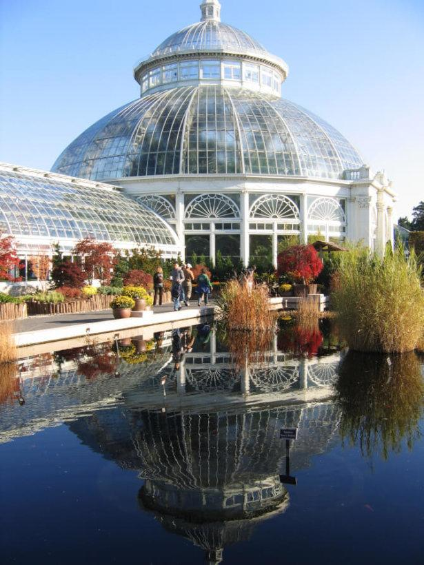 Top 20 things to do in New York: An outside view of the greenhouse of the New York Botanical Garden
