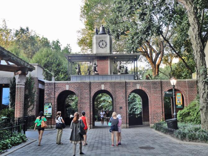 Top 20 things to do in New York: The entrance of the Central Park Zoo