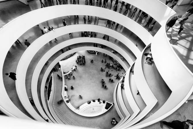 Top 20 things to do in New York: Interior of the Solomon R. Guggenheim Museum