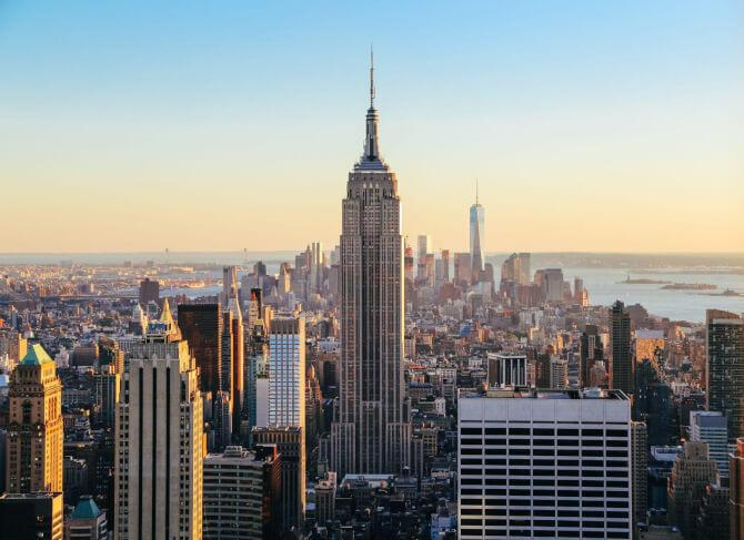 Top 20 things to do in New York: The Empire State Building, one of the most famous places to visit in New York