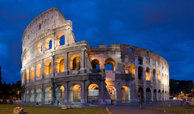 Top 20 things to do in Rome: The Colosseum, one of the best places to visit in Rome