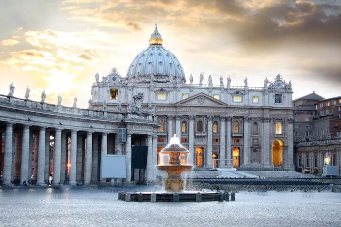 Top 20 things to do in Rome: St. Peter's Basilica