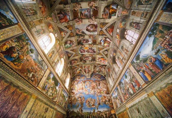 Top 20 things to do in Rome: The walls and ceilings of the Sistine Chapel