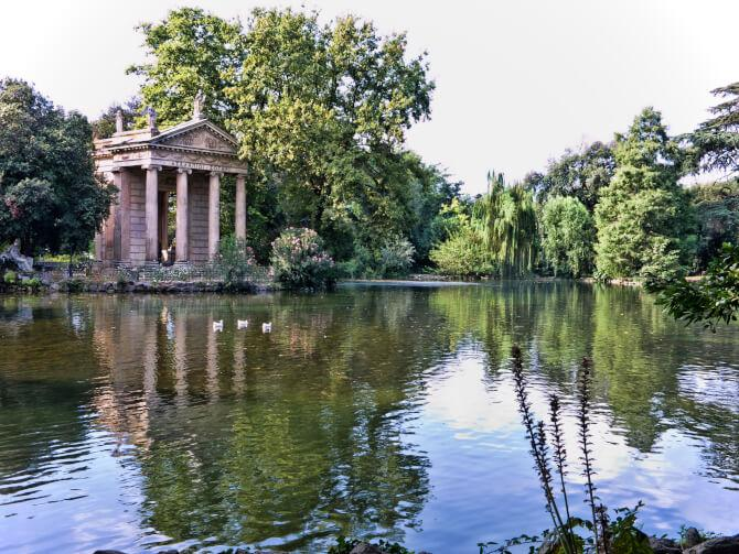Top 20 things to do in Rome: Villa Borghese gardens