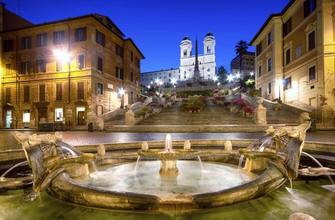 Top 20 things to do in Rome: The Spanish Steps