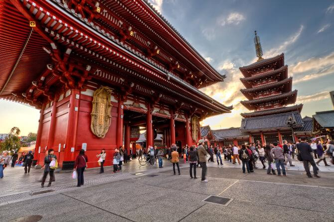 Top 20 things to do in Tokyo: The Buddhist temple of Sensou-ji