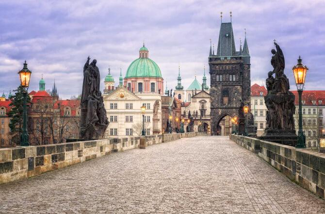 Top 20 things to do in Prague: On the Charles Bridge