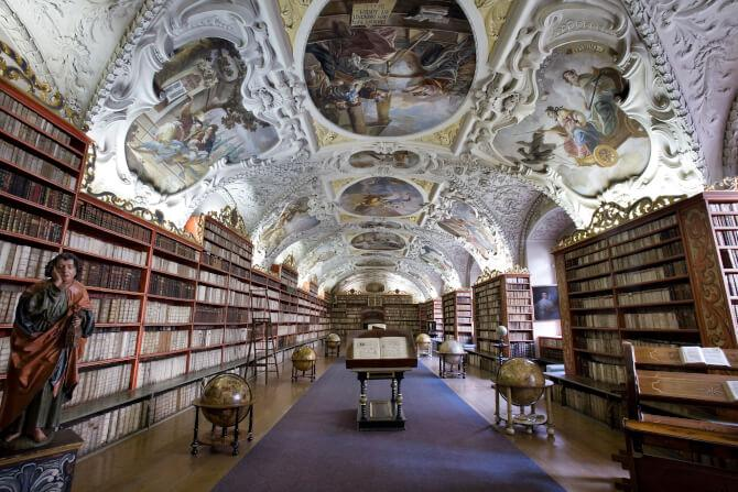 Top 20 things to do in Prague: The Theological Hall of the Strahov Library