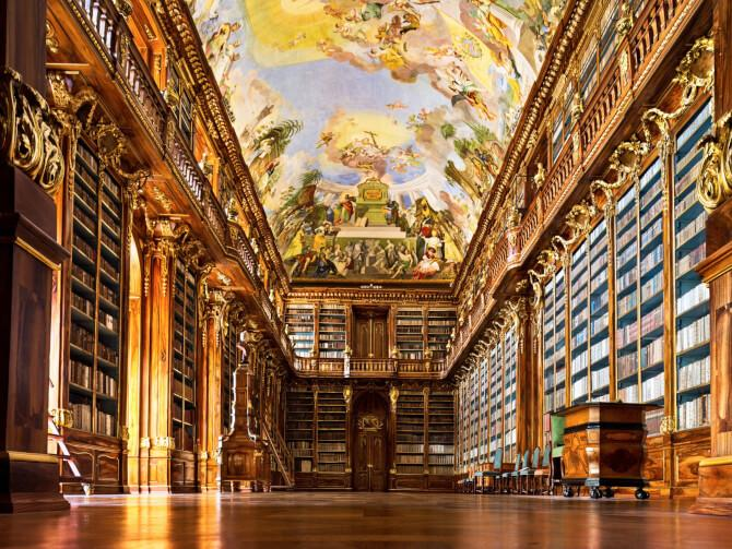 Top 20 things to do in Prague: The Philosophical Hall of the Strahov Library