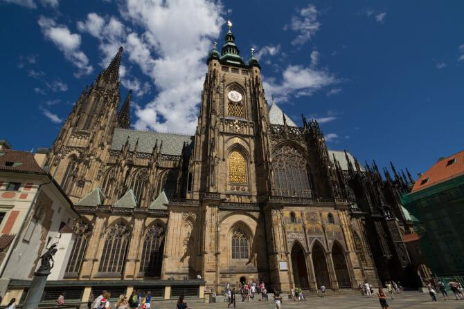 Top 20 things to do in Prague: The side of the St. Vitus Cathedral