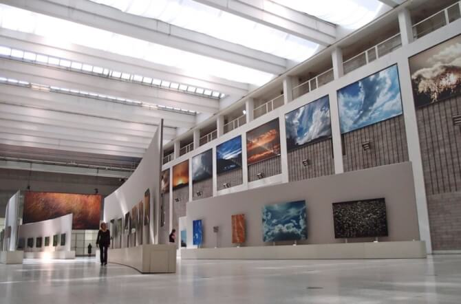 Top 20 things to do in Prague: The interior of the National Gallery in Prague