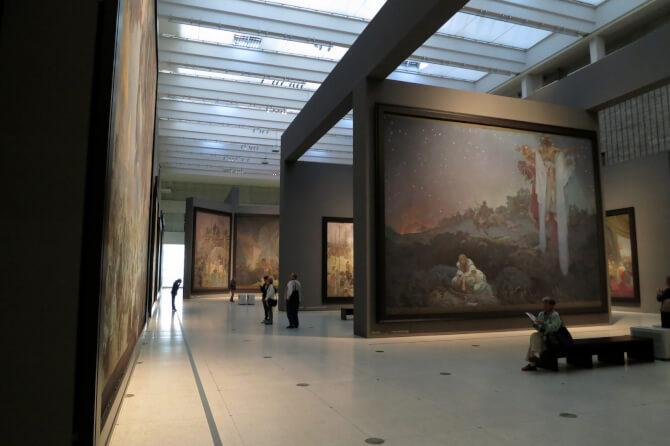 Top 20 things to do in Prague: Large paintings in the National Gallery in Prague