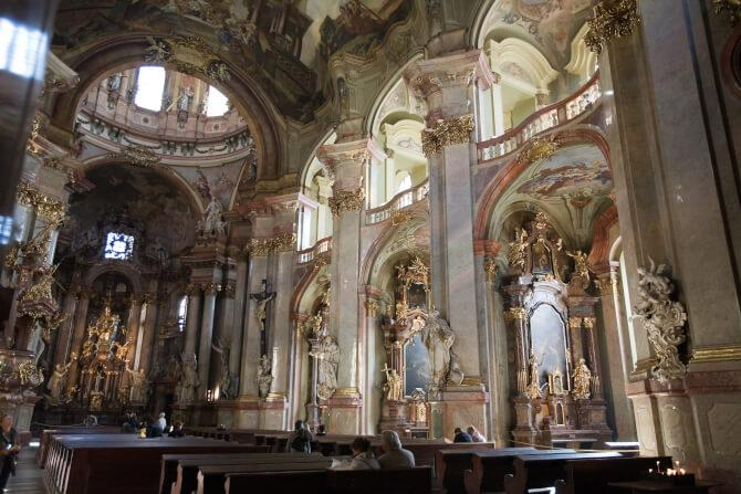 Top 20 things to do in Prague: Inside the St. Nicholas Church