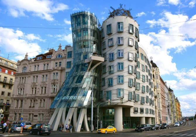 Top 20 things to do in Prague: The unusual shape of the Dancing House