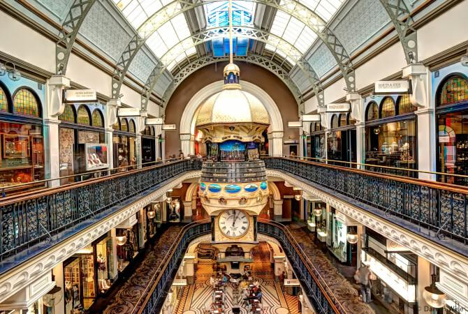 Top 20 things to do in Sydney: The interior of the Queen Victoria Building