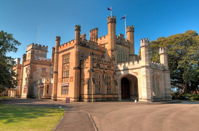 Top 20 things to do in Sydney: The Government House of New South Wales in Sydney