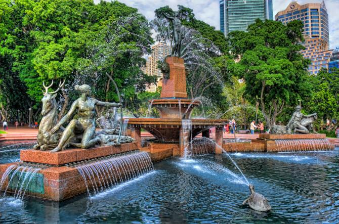 Top 20 things to do in Sydney: The fountain of Hyde Park