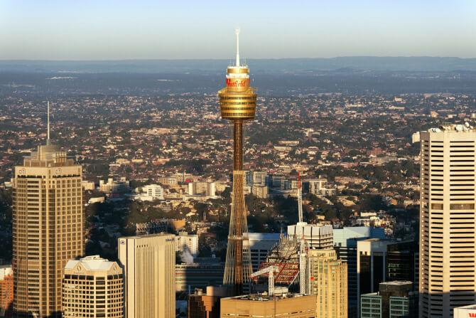 Top 20 things to do in Sydney: Sydney Tower