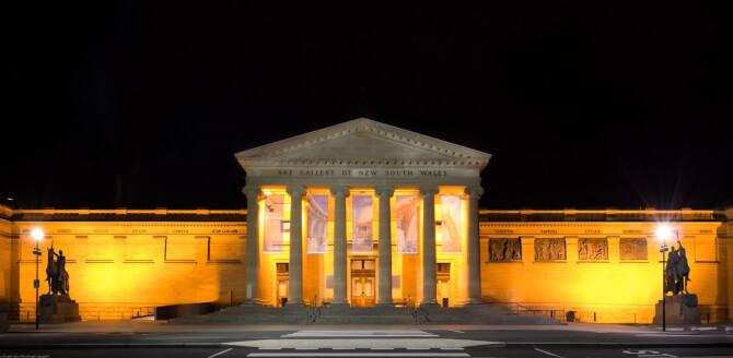 Top 20 things to do in Sydney: The Art Gallery of New South Wales at night