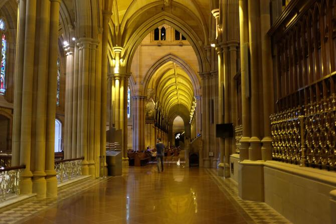 Top 20 things to do in Sydney: The interior of the St. Mary's Cathedral