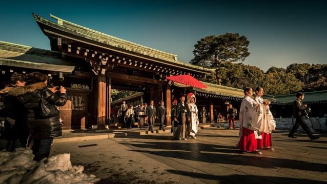 Top 20 things to do in Tokyo: A japanese wedding - a must-see in the list of things to do in Tokyo