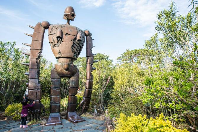Top 20 things to do in Tokyo: A character from Castle in the Sky at the Ghibli Museum