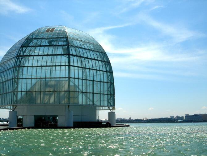Top 20 things to do in Tokyo: The Tokyo Sea Life Park is built on water