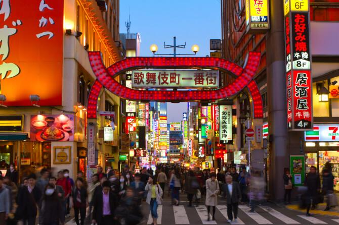 Top 20 things to do in Tokyo: The red-light district of Kabukichou