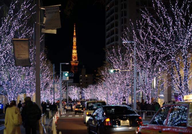 Top 20 things to do in Tokyo: Roppongi at night during Christmas