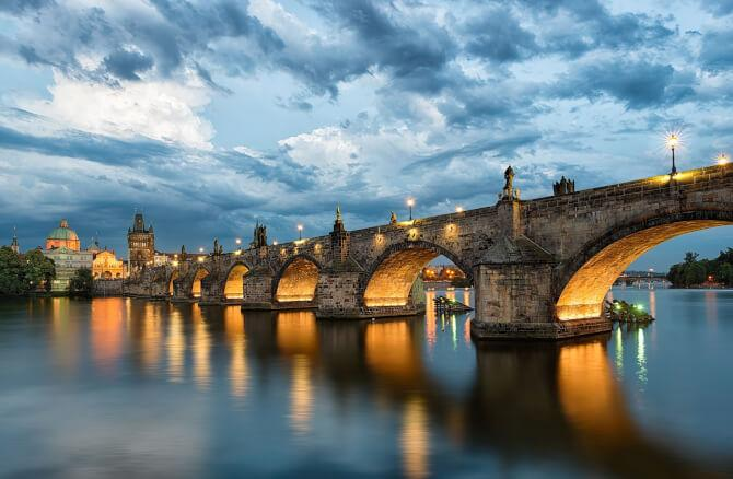 Top 20 things to do in Prague: View of Charles Bridge