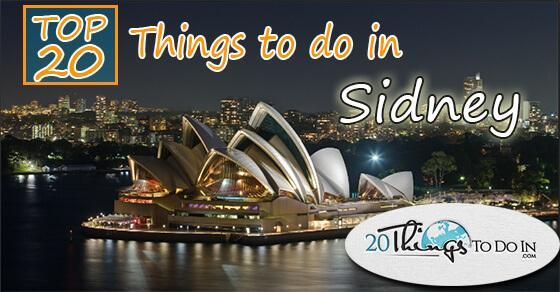 Top 20 things to do in Sydney