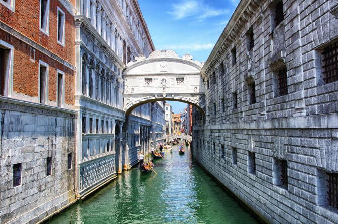 Top 20 things to do in Venice: Bridge of Sighs