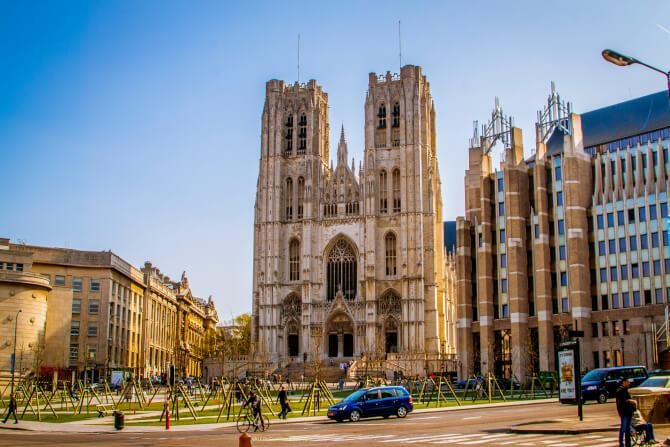 Top 20 things to do in Brussels: Cathedral of St. Michael and St. Gudula
