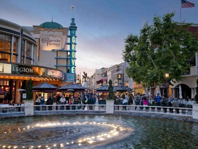 Top 20 things to do in Los Angeles: The center of The Grove
