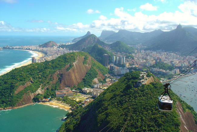 Top 20 things to do in Rio de Janeiro: View from Sugarloaf Mountain