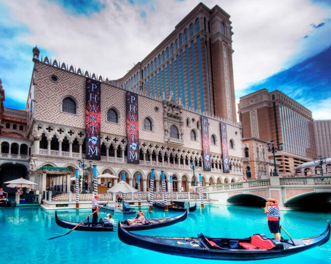 Top 20 things to do in Las Vegas: The Venetian Las Vegas hotel