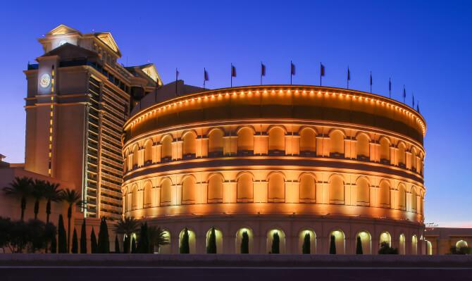 Top 20 things to do in Las Vegas: The Colosseum at Caesars Palace