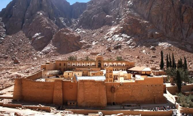 things to do in egypt:St Katherine's Monastery