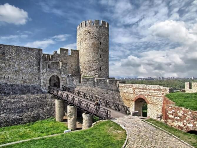 Things to do in Belgrade:Kalemegdan Citadel