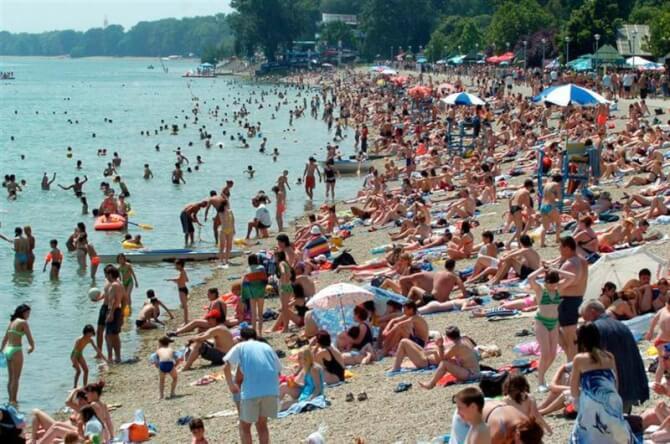 Things to do in Belgrade:Ada Ciganlija
