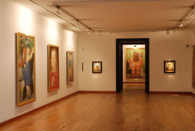 things to do in Bogota:Museo Botero del Banco de la Republica